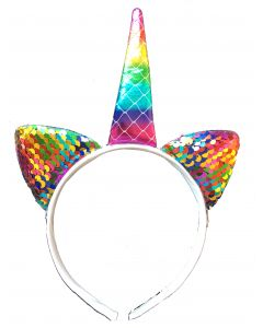 Rainbow Unicorn Aliceband