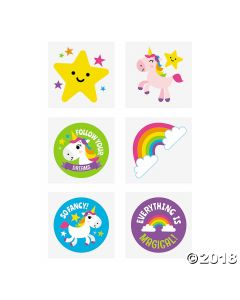 Rainbow Unicorn Tattoos