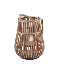 Rattan Natural Lantern with Handle