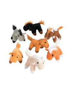 Realistic Stuffed Horses