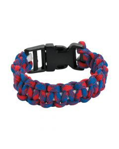 Red, White and Blue Paracord Bracelet Craft Kit
