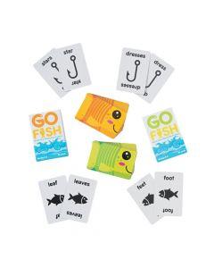 Regular and Irregular Plural Go Fish Game Sets