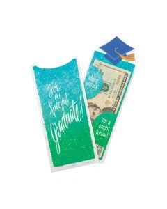 Religious Graduation Bookmark Money Holders