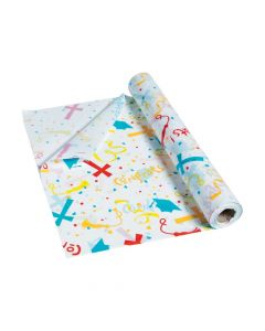 Religious Graduation Tablecloth Roll