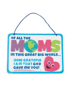Religious Mother's Day Sign Craft Kit