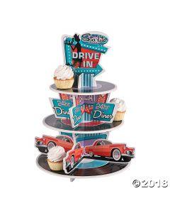 Rockin 50'S Cupcake Stand