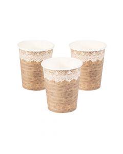 Rustic Paper Cups