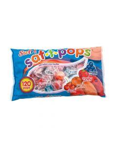 Saf-t-pops Swirls Lollipops