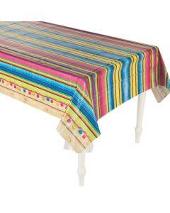 Sarape Fiesta Plastic Tablecloth