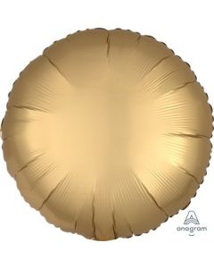 Satin Luxe Gold Sateen Circle Foil Balloon