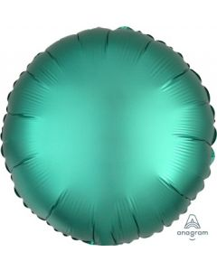 Satin Luxe Jade Circle Foil Balloon