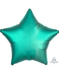 Satin Luxe Jade Star Foil Balloon