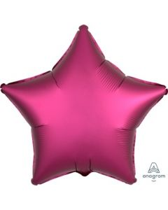 Satin Luxe Pomegranate Star Foil Balloon