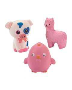 Scented Farm Animal Slow-Rising Squishies