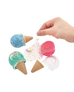 Scented Ice Cream-Shaped Putty