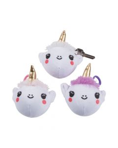 Scented Plush-Covered Unicorn Slow-Rising Squishies