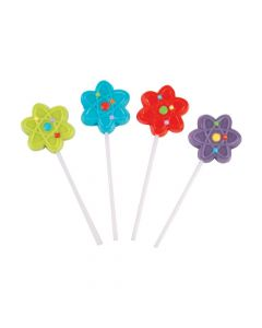 Science Party Frosted Lollipops