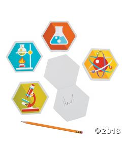 Science Party Laboratory Notepads