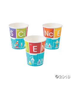 Science Party Paper Cups