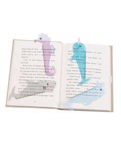 Sea Animal-Shaped Ruler Bookmarks