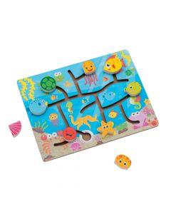 Sea Animal Slide Puzzle