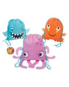 Sea Life Drawstring Bags