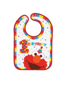 Sesame Street Elmo Turns One Bib
