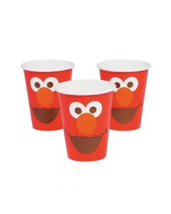 Sesame Street Elmo Turns One Paper Cups