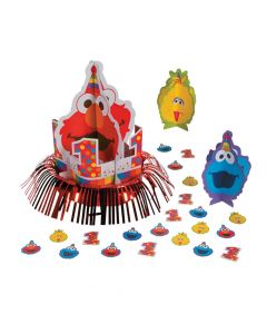 Sesame Street Elmo Turns One Table Decorating Kit