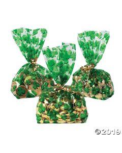 Shamrock Goody Cellophane Bags