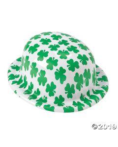 Shamrock Print Derby Hats