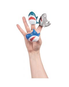 Shark Finger Puppets
