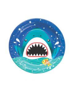 Shark Party Dinner Paper Plates