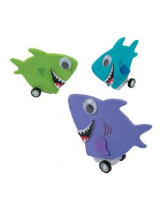Shark Pullback Racer Craft Kit