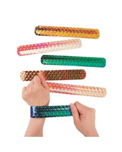 Shimmer Mermaid Slap Bracelets