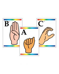Sign Language and Braille Learning Cards