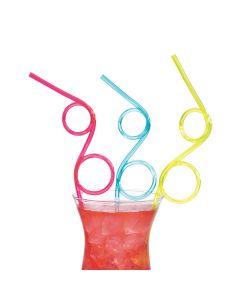 Silly Loop Straws