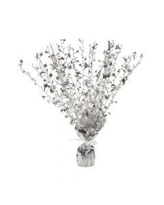 Silver Starburst Decoration