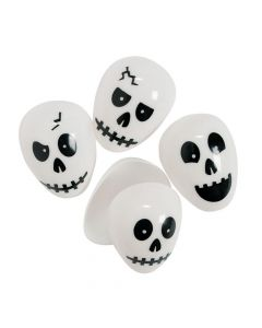 Skull Plastic Easter Eggs