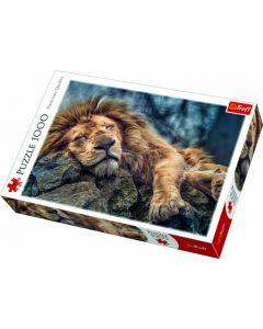 Sleeping Lion 1000 Piece Puzzle