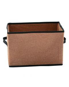 Small Burlap Storage Basket