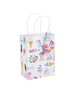 Small Hooray Unicorn Party Gift Bags