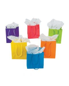 Small Neon Gift Bags