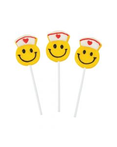Smile Face Nurse Lollipops