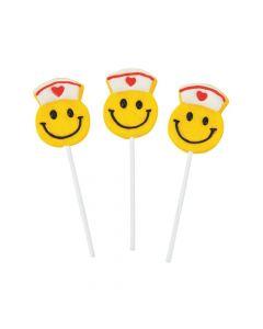 Smile Face Nurse Lollipops