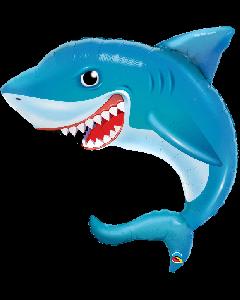 Smiling Shark Foil Balloon