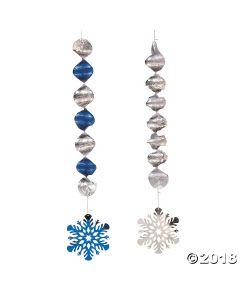 Snowflake Hanging Spirals