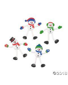 Snowman Bendables