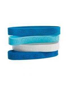 Snowman Rubber Bracelets
