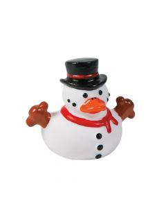 Snowman Rubber Duckies